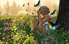 Dreaming With A Broken Heart (Stormm Firecaster 2009) Tags: sad tears secondlife babygirl