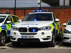 Warwickshire and West Mercia Police BMW X5 Armed Response Vehicle VX67 BCY, Coleshill Police Station. (Vinnyman1) Tags: warwickshire west mercia police bmw x5 operational patrol unit armed response vehicle arv vx67 bcy opu afo authorised firearms officer anpr automatic number plate recognition cctv closed circuit television enabled rugby wp coleshill station rpu roads policing emergency services service rescue 999 england uk united kingdom gb great britain