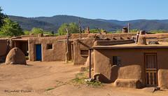 Taos Pueblo (Lindell Dillon) Tags: taospueblo taos newmexico architecture nativeamerican