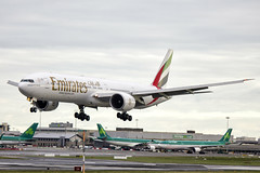 A6-EBY | Emirates | Boeing B777-36N(ER) | CN 33864 | Built 2007 | DUB/EIDW 05/02/2018 (Mick Planespotter) Tags: a6eby emirates boeing b77736ner 33864 2007 dub eidw 05022018 b777 dublinairport collinstown 2018 nik sharpenerpro3 flight