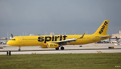 Airbus A321 (N657NK) Spirit Airlines (Mountvic Holsteins) Tags: airbus a321 n657nk spirit airlines fll