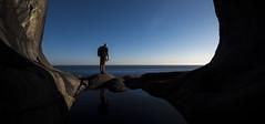 Go west... (bent inge) Tags: norway vestagder flekkefjord brufjell brufjellhålene ocean oceanscape west horizon bentingeask may 2018 utno