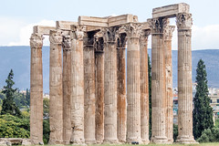 Temple of Olympian Zeus (gourab66) Tags: templeofolympianzeus athens greece europe travel canon canoneos80d canonef100400mmf4556lisiiusm historicalplace greekhistory tourists ancient