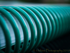 Around It Goes (HMM) (13skies) Tags: macromondays lines close linesymmetry green book coil macroscopic around hmm macromonday macro sonyalpha100 a100 sony depthoffield dof paper challenges theme happymacromonday