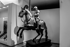 Heavy Cavalry (Miguel Angel Prieto Ciudad) Tags: battle priest war statue leader cavalry black white blancoynegro monochrome medieval museum sonyalpha alpha3000 mirrorless heritage history