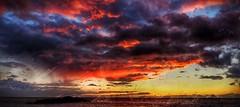 Sunset, Waialea Beach, Hawaii (augenbrauns) Tags: clouds sky water beach waialeabeach hawaii sunset beaches landscapes