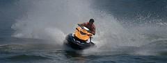 Speed Turning (Scott 97006) Tags: ride guy man sport water wet river fun recreation seadoo