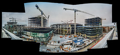 chase center (warriors arena) complex (pbo31) Tags: bayarea california nikon d810 color august 2018 summer boury pbo31 urban city sanfrancisco panoramic large stitched panorama missionbay construction warriors nba chasecenter 3rd basketball arena goldenstate site crane over roadway complex build