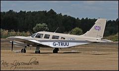 G-TRUU Piper PA-34-220T Seneca III c/n 3433020 Omega Sky Taxi Ltd (EGLK-Blackbushe) 31/07/2018 (Ken Lipscombe <> Photography) Tags: gtruu piper pa34220t seneca iii cn 3433020 omega sky taxi ltd eglkblackbushe 31072018