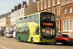 First Hampshire & Dorset - BF63 HDV (peco59) Tags: bf63hdv 37997 volvo b9 b9tl wrightbus wright gemini eclipse firsthampshiredorset firstbeeline jurassiccoaster greenline bus psv pcv