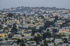 prospect on the hill (pbo31) Tags: sanfrancisco california nikon d810 august 2018 summer boury pbo31 city urban color bernalheights rooftops glenpark over view neighborhood