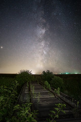 Train Bridge Milky Way (tylerjacobs) Tags: sony a6000 sigma 16mm f14 long exposure illinois rural abandoned rustic nightsky night sky time stars astrophotography starry longexposure forgotten dilapidated derelict livingston county milky way summer