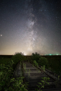 Train Bridge Milky Way