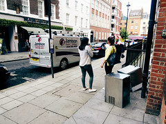 Picton Place. 20180813T15-36-07Z (fitzrovialitter) Tags: peterfoster fitzrovialitter city camden westminster streets rubbish litter dumping flytipping trash garbage urban street environment london fitzrovia streetphotography documentary authenticstreet reportage photojournalism editorial captureone olympusem1markii mzuiko 1240mmpro microfourthirds mft m43 μ43 μft geotagged oitrack smoke smoking cigarette