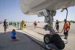 Plane Pull-21 (specialolympicsco) Tags: brianjohnsonphoto denver denverinternationalairport fedex planepull specialolympics specialolympicscolorado subway brianjohnsonphotocom