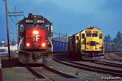 Once upon a time in the Willamette Valley (1 of 3) (C.P. Kirkie) Tags: southernpacific southernpacificoregondivision sp willamettepacific wprr willamettevalley oregon trains railroads emd freighttrain gp392 sd40t2