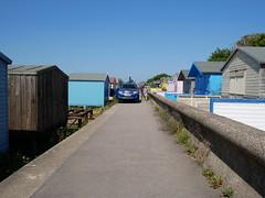 Whitstable - among the beach huts (Dubris) Tags: england kent whitstable seaside coast beachhut