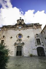 Iglesia del monasterio de Lluc  - Mallorca - (ibzsierra) Tags: mallorca lluc monasterio iglesia church canon 400d sigma 1020 historia baleares