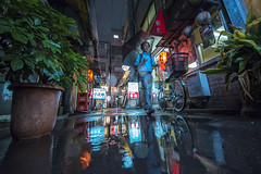 WATER IN THE ALLEY (ajpscs) Tags: ©ajpscs ajpscs japan nippon 日本 japanese 東京 tokyo city people ニコン nikon d750 tokyostreetphotography streetphotography street seasonchange rainyseason tsuyu 梅雨 2018 strangers walksoflife streetoftokyo rain ame 雨 雨の日 whenitrains 傘 anotherrain badweather whentheraincomes cityrain tokyorain attheendoftheday wetstreet noplaceforthesun umbrella whenitrainintokyo arainydayintokyo nosuntoday feeltherain waterinthealley