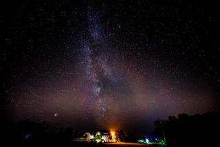 Die Milchstraße vor der eigenen Haustür