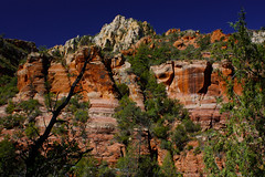 Could Only Be Sedona (oybay©) Tags: sedona arizona cathedralrock mountain redrocks icon blue red gred nature natural color colors outdoor landscape