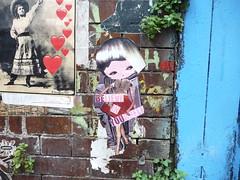 London 2018 (bella.m) Tags: graffiti streetart urbanart london shoreditch greatbritain art wheatpaste pasteup phoebe libbyschoettle
