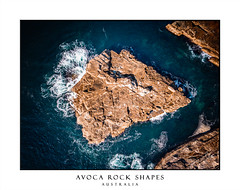 Avoca beach rock shapes aerial abstract (sugarbellaleah) Tags: australia avocabeach beach copyspace landscape morning sand sandy seashore seaside sun sunlight sunrise thisisaustralia waves aerial rocks ocean above perspective abstract triangle shapes