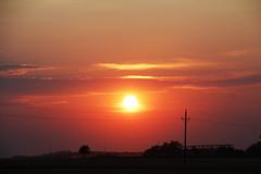 Sunset Mood (CoolMcFlash) Tags: sunset silhouette landscape nature sky orange red sun sunlight dusk cloud weather summer evening sonnenlicht sonne sonnenuntergang kontur landschaft natur himmel rot abend wolken wetter sommer fotografie photography canon eos 60d tamron b008 18270 licht light