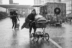 Heavy rain today ... (Sean Bodin images) Tags: rain nørreport visitcopenhagen visitdenmark voreskbh people photojournalism photography copenhagen citylife candid city citypeople children nyhavn reportage copenhegen