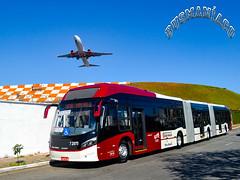 7 2075 Viação Campo Belo (busManíaCo) Tags: viaçãocampobelo 72075 caio millennium brt biarticulado volvo b360s 19ºbbtbusbrasiltourportaldoônibus juvercimelo valprado aeroportodecongonhas aeroporto congonhas