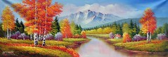 Transitions, Art Painting / Oil Painting For Sale - Arteet™ (arteetgallery) Tags: arteet oil paintings canvas art artwork fine arts landscape water river mountain tree park waterfall sky forest lake summer scenery tourism outdoor trees outdoors mountains rock sunny reflection clouds rocks environment grass natural scenic spring stone cloud scene national season horizon scandinavia calm autumn range ecology valley tranquil meadow fall serene clear landscapes surreal fantasy lakes rivers orange cyan paint