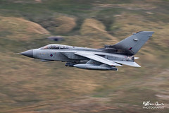 RAF Tornado GR4 low level in Northern England (NDSD) Tags: low level panavia tornado gr4 cumbria yorkshire pennine pennines flying jet raf lake district plane aviation aircraft dales