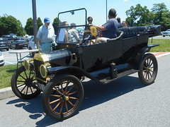 1914 Ford Model T Touring (splattergraphics) Tags: 1914 ford modelt touring carshow aacamuseum hersheypa
