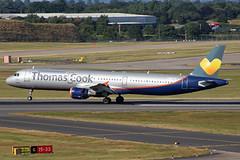 Thomas Cook (Avion Express) Airbus A321-211 LY-VED BHX 28/06/18 (bhx_flights) Tags: thomascook avionexpress runway airport airbus airbus321 airbusa321 bhx egbb birmingham birminghamairport aeroflot