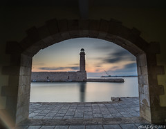 Rethymno Lighthouse (Nick Corrado) Tags: a7ii landscape seascape crete tokinarmc17mm rethymno longexposure nisifilters lighthouse port sunrise