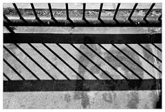 analog - Olympus Trip 35 / Gelbfilter - Ilford XP2 (tom-schulz) Tags: olympustrip35 ilfordxp2400 gelbfilter monochrom bw sw frame rahmen berlin thomasschulz schatten balkon linien film 35mm analog