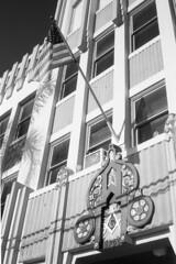 Freemason Lodge 296 San Diego, CA. (lammyracer) Tags: inexplore ricoh500g 35mmfilm fomapan blackandwhite freemason bluelodge sandiego filmisnotdead shootfilm