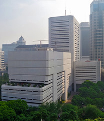 Tipikal Bank Indonesia (Ya, saya inBaliTimur (leaving)) Tags: jakarta building gedung architecture arsitektur office kantor