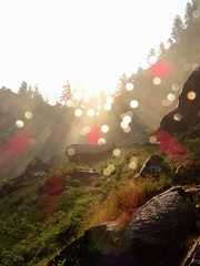 Sparkling in the Sun (The-Beauty-Of-Nature) Tags: summer sommer july juli nature california kalifornien usa vacation urlaub yosemite national park vernal fall trail hiking waterfall