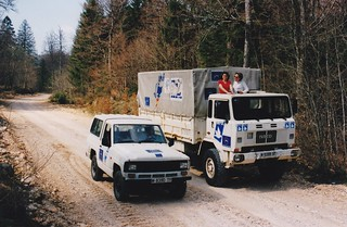 Iveco 75PC 4x4 Ex armée Espagnole MPDL Croatie Hrvatska 1998a