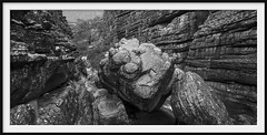 wonderland canyon (Andrew C Wallace) Tags: wonderland grampiansnationalpark victoria australia blackandwhite bw thephotontrap microfourthirds m43 ir infrared olympusomdem5