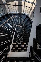 Staircase No. 4 (Sascha Gebhardt Photography) Tags: nikon nikkor d850 1424mm lightroom travel tour treppenhaus treppe staircase stairs steps photoshop reise roadtrip reisen germany deutschland fototour fx