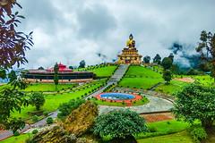 Buddha Park - Ravangla - Sikkim (Tilak Haria) Tags: buddhapark ravangla sikkim india park buddha