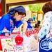 At Rice cracker shop in Tokyo soramachi in Tokyo Sky Tree Town : 越前海鮮倶楽部 東京ソラマチ店にて(墨田区・東京スカイツリータウン)