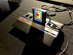Power Up! (Miss Emma Gibbs) Tags: atari2600 pacman mosi museumofscienceandindustry powerup computergames videogames consoles retro old technology gaming gamers elvis
