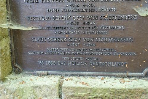 Stauffenberg Denkmal nähe Rangendingen