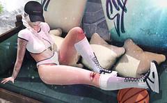~Basketball Girl~ (нчρпσκυн aka Nessie Ryan) Tags: foxy letistattoo tattoo seniha valekoer access formanails ks event events pose posing secondlife second life secondlifeblogger secondlifeblog nessie nessieryan ryan wordpress blog blogger fashion fashionoutfit bento mesh meshhead meshhair meshbody slblogger slblog sl virtuallife virtualworld virtual fashionblog fashionblogging catwa tala ava avi style head hair clothes styling 2ndlife