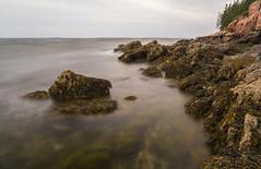 What Lies Beneath II ({Brinkervelt}) Tags: bassheadlighthouse maine mtdesertisland waves movement motion exposure shutter rocks rocky