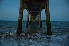 Deal Pier (michelbphotography) Tags: pier dealpier sea water sky struts cafe walkalongthepier people englishchannel shipping