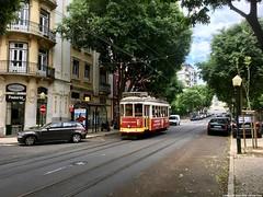 Rua João de Barros (ernstkers) Tags: 559 bonde carris ccfl ccfl559 lightrail lisboa lisbon lisbonne lissabon portugal streetcar tram tramvia tranvia trolley eléctrico strasenbahn spårvagn